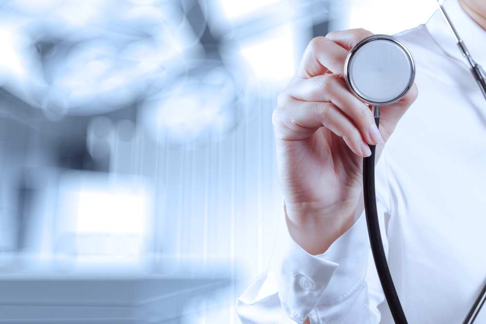 success smart medical doctor working with operating room as concept-1